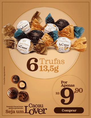 Promoção Trufas 13,5g