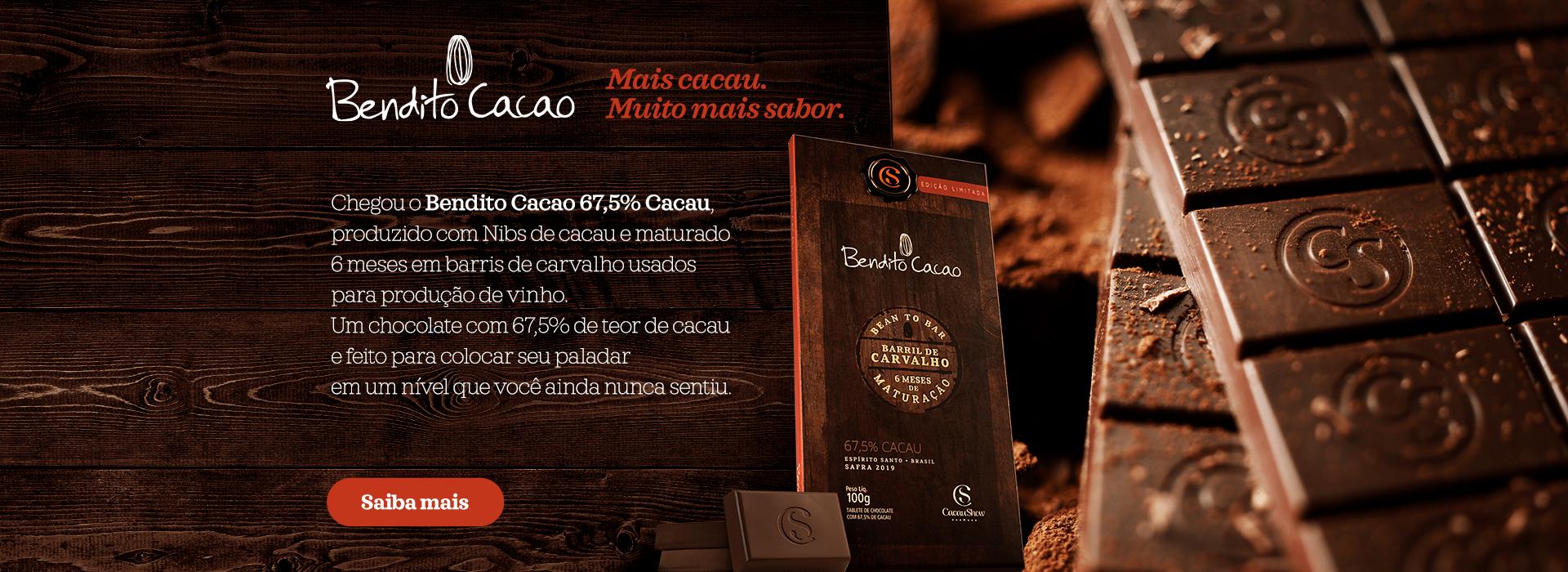 Tablete Bendito Cacao Vintage
