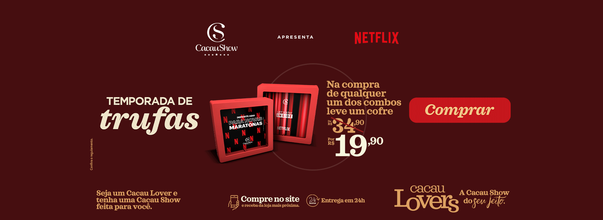 Cofre Netflix