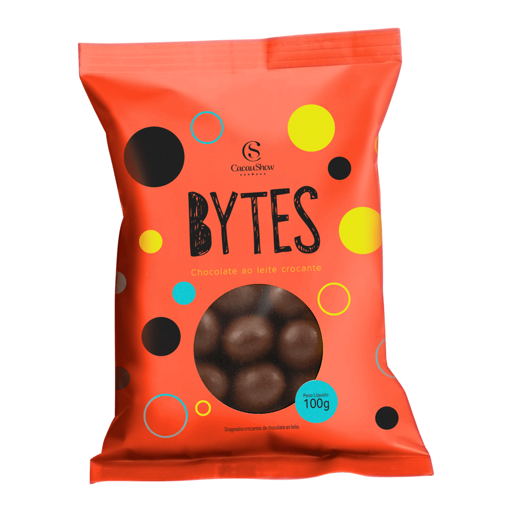 BYTES CHOCOLATE AO LEITE CROCANTE 100G, , large. image number 0