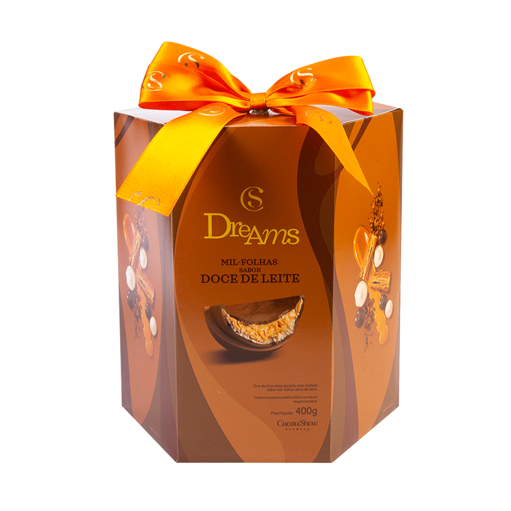 OVO DREAMS DOCE DE LEITE 400G, , large. image number 0