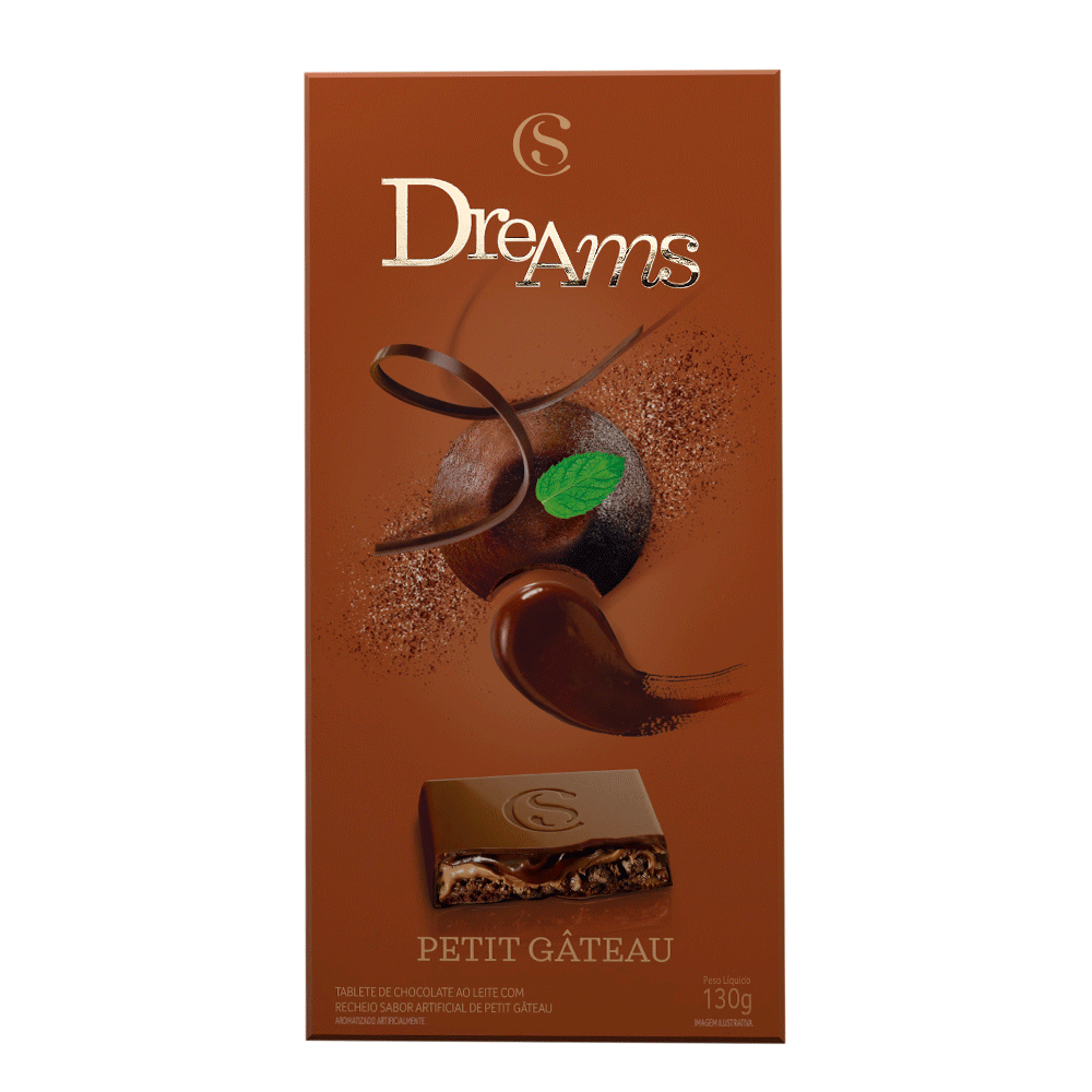 TABLETE DREAMS PETIT GATEAU 130G, , large. image number 0