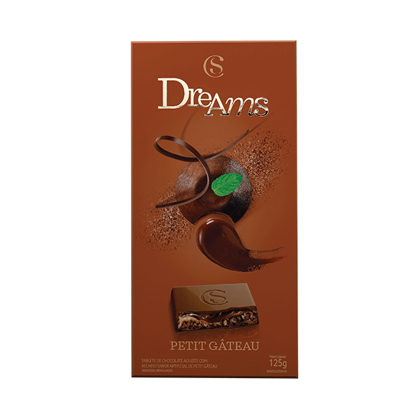 TABLETE DREAMS PETIT GATEAU 130G